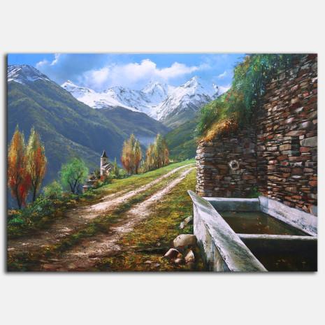 Quadre Paisatge Vall d' Aran