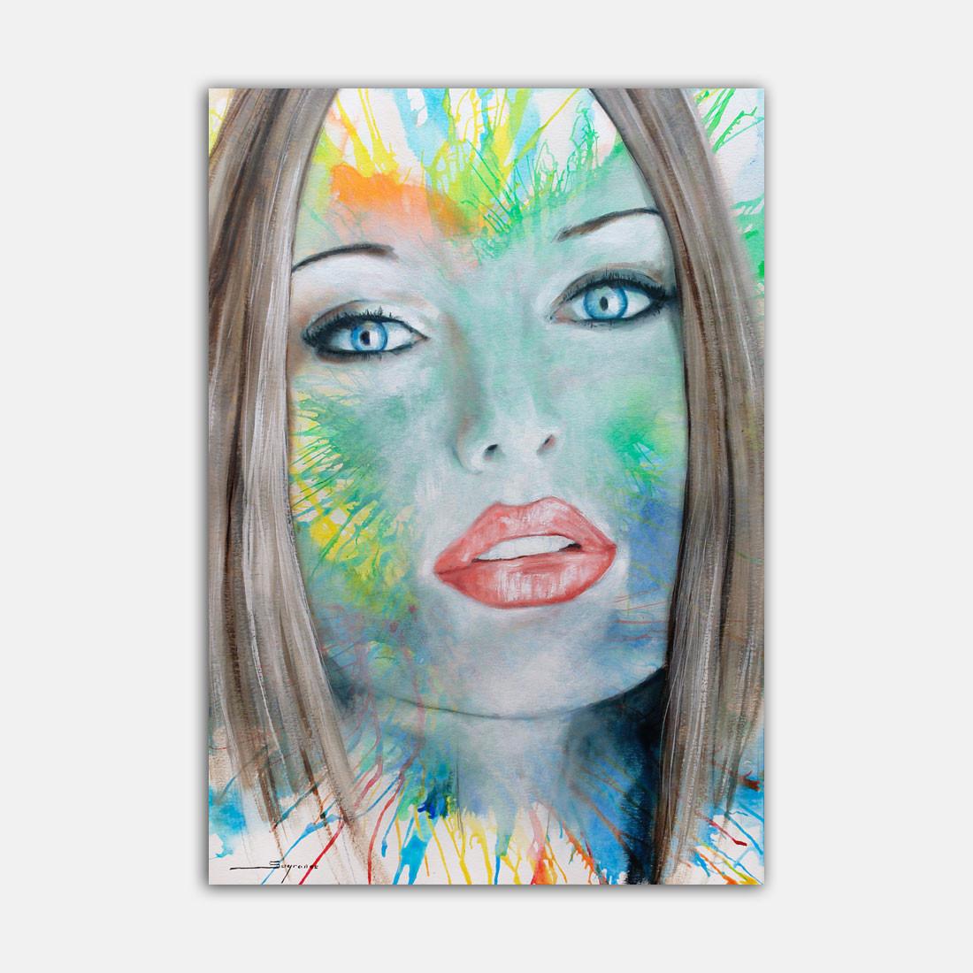 Pintura sobre paper - Sugrañes