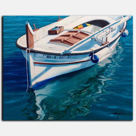 Cuadro barca Sugrañes