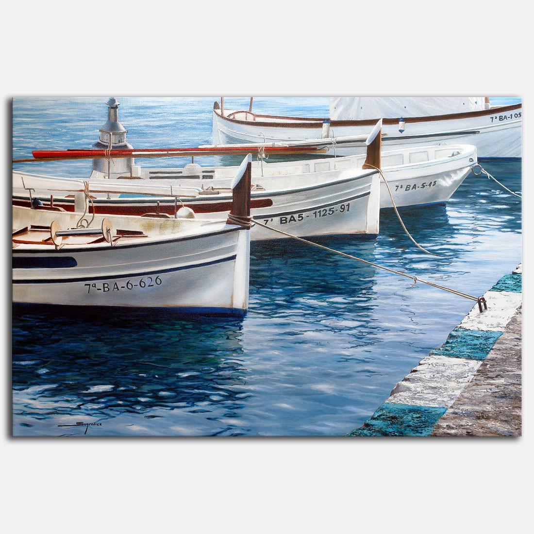 Marina Sugrañes - Barques Portlligat