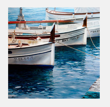Cuadros marinas - Sugrañes
